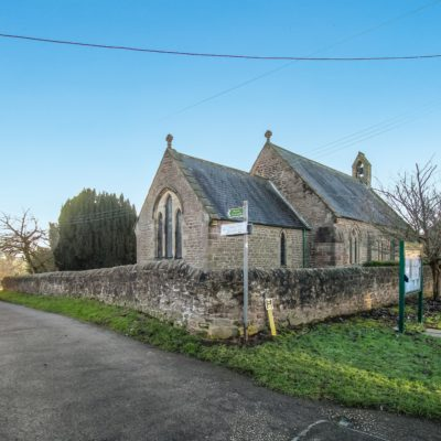 Access Road To The Ingleton Village Hall By The Church