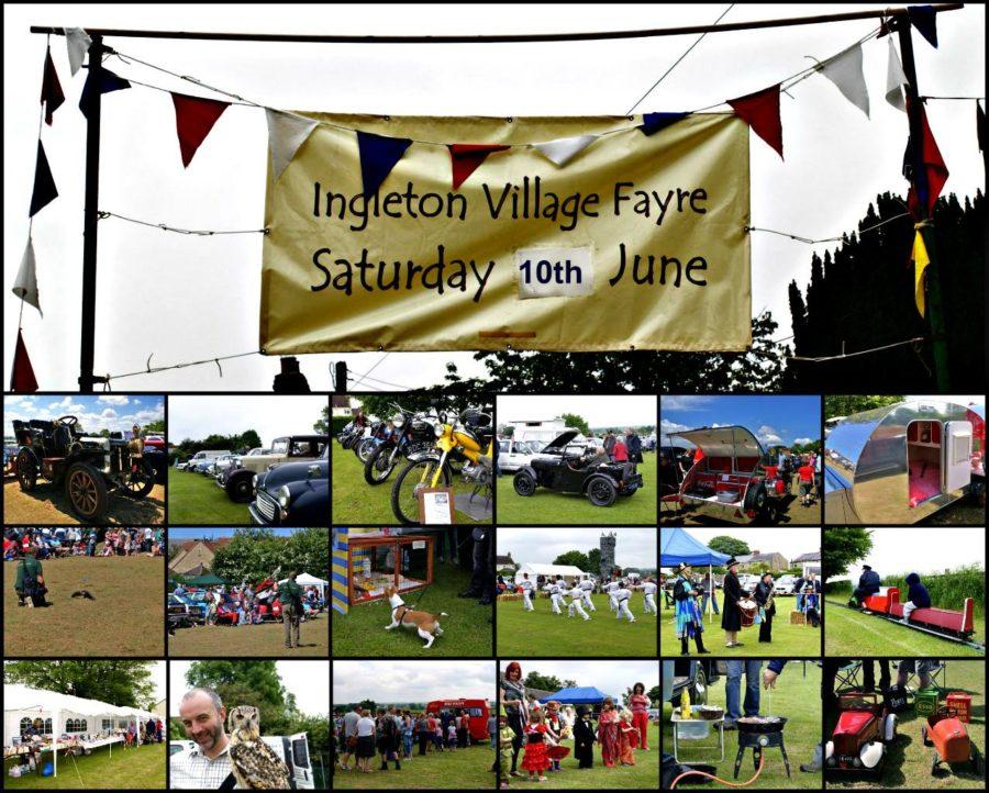 Ingleton Village Fayre Picture Montage