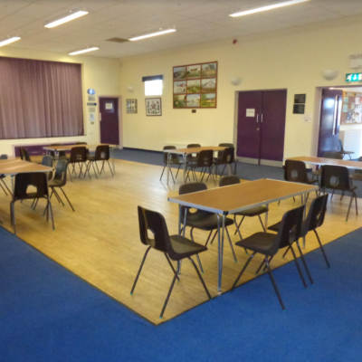 Second View Of The Main Function Room In The Village Hall