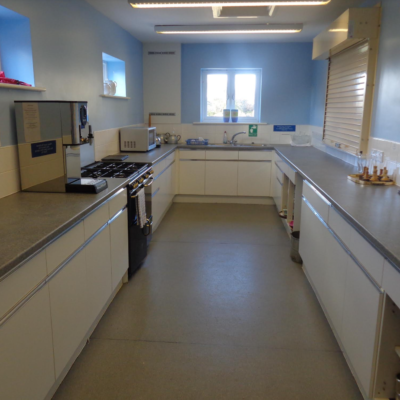 View Of The Kitchen Facilities In The Village Hall
