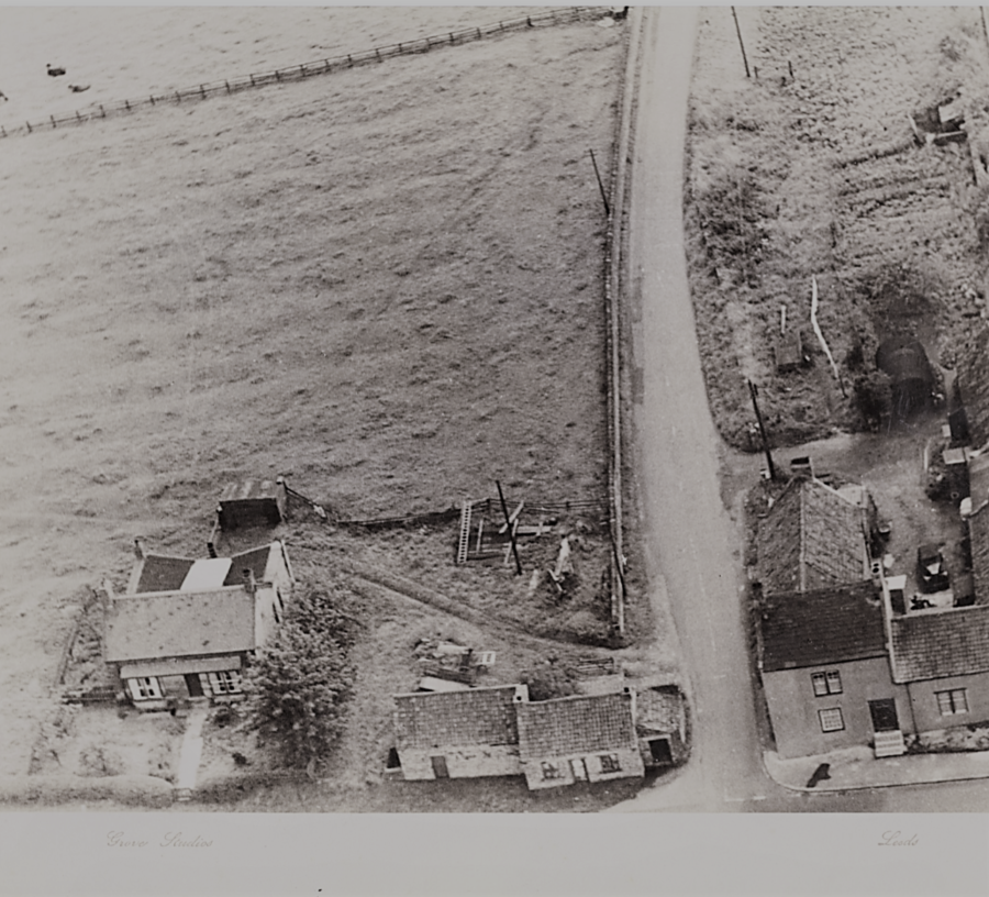 A Historic Picture Of The Gainford Road Junction In Ingleton