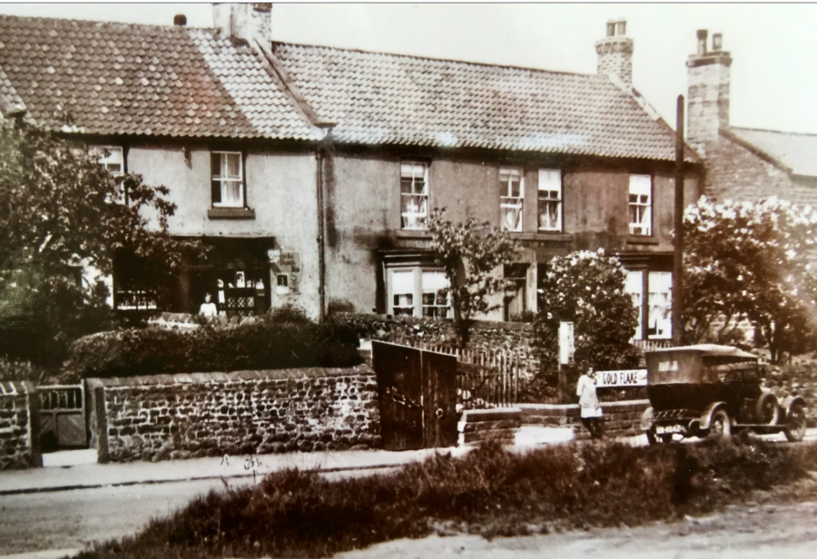 An Old View Of Front Street Showing A Shop Opposite Rayson House Now A Private Residence