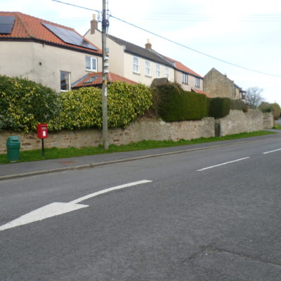 Centre Of Village looking eastwards towards the entrance to Hillside