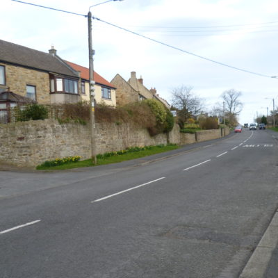 Centre Of Village looking towards the east