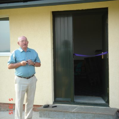 Councillor Jim Natrass Opening The Pavilion In July 2006