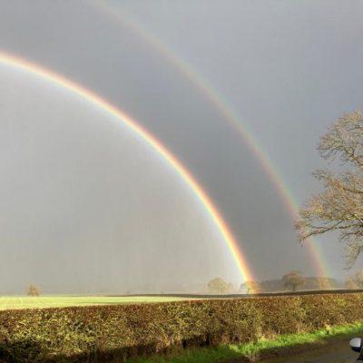 Double Rainbow Near Ingleton