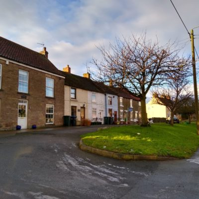 Ingleton Front Street South Side From Rayson Court Towards Oban House