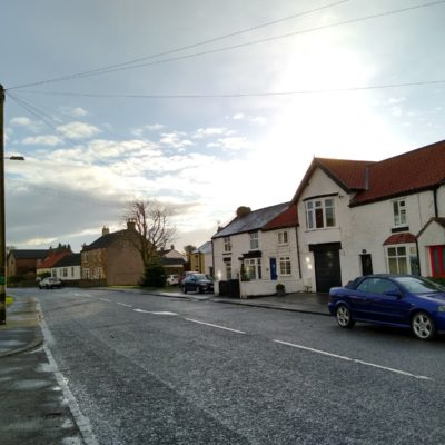 Ingleton Front Street South Side With The Old Post Office In The Centre Of The Picture