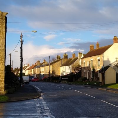 Ingleton Front Street Looking West From Gainford Road Entrance