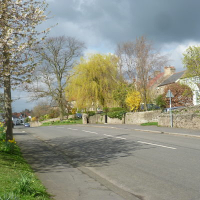 Middle Of The Village Looking West
