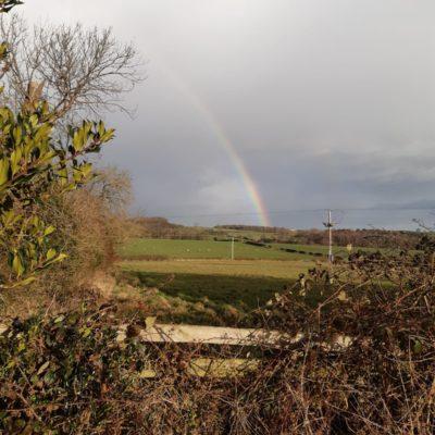 Rainbow Over The Vally From Ingleton