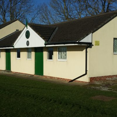 South East View Of The Cricket Pavilion