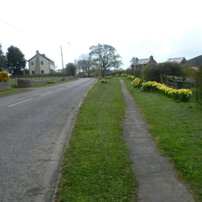 West End Of The Village Looking East
